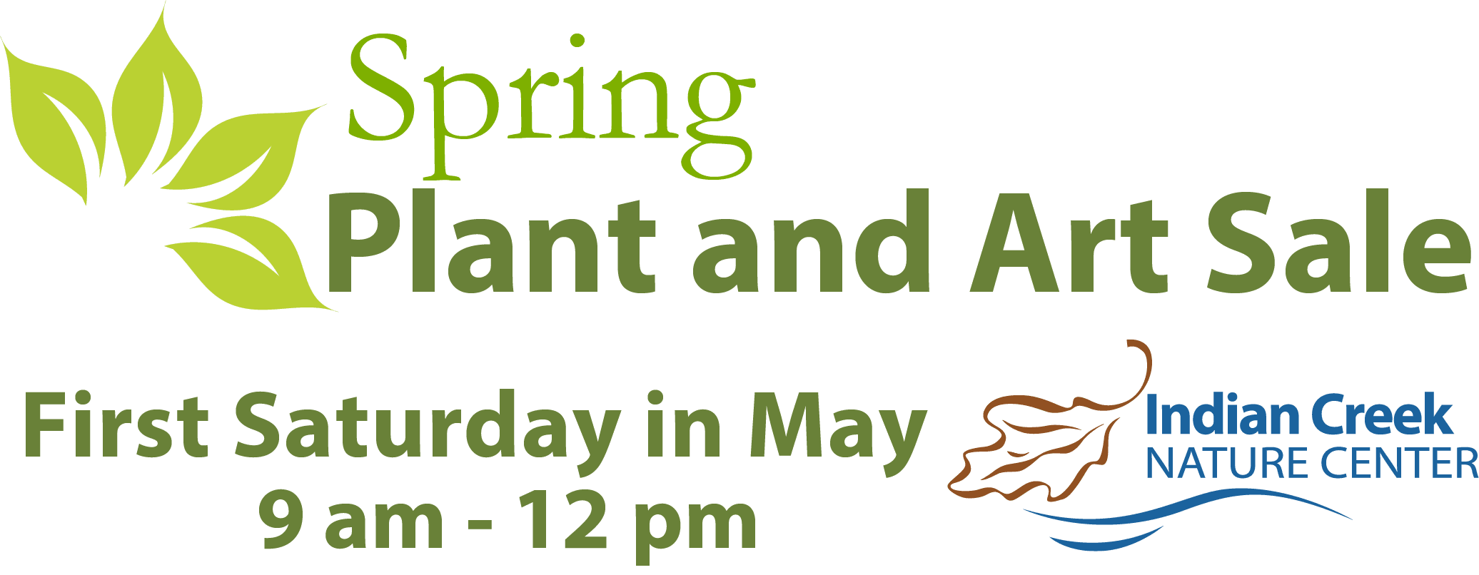 Spring Plant and Art Sale – Indian Creek Nature Center