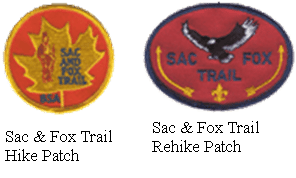 Hiking-Badges