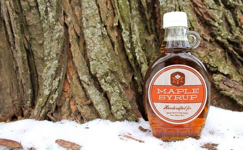 the maple syrup festival is on  indian creek nature center