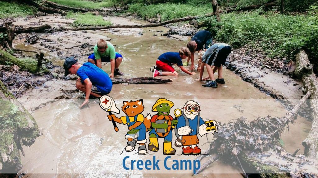 2019 Creek Camp registration NOW OPEN! – Indian Creek Nature
